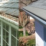 Gutter Guards Jacksonville FL before and after - Gutter Cap Florida