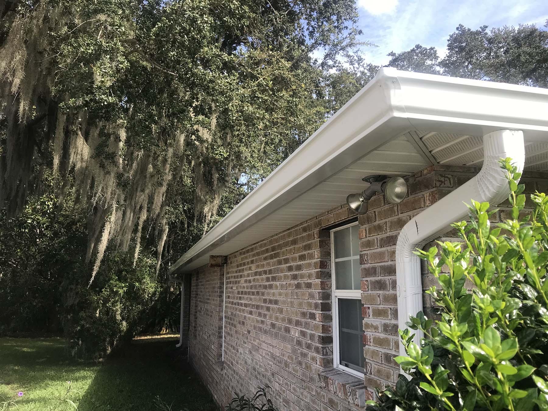 Gutter Guards Jacksonville - New Gutters Jacksonville - Gutter Installation - Gutter Protection Jacksonville - Gutter Cap Florida