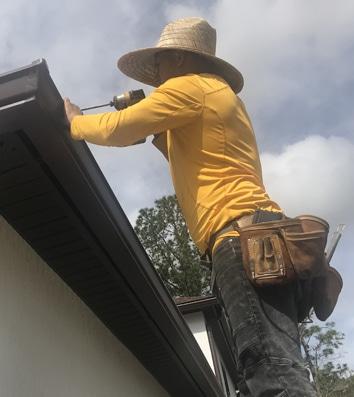 Jacksonville Florida Gutter repair - Gutters Jacksonville - Gutter Guards Jacksonville - Gutter Cap Florida